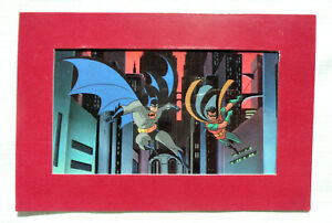 Dynamic Duo Batman The Animated Series Volume 3 Collectible Litho Cel And Robin