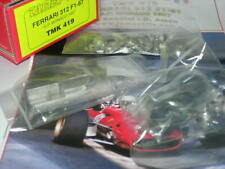 Tameo Kits 1:43 KIT TMK 419 Ferrari 312 F.1 GP Monaco 1967 Bandini/Amon NEW.