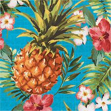 16 x Hawaiian Napkins Tropical Pineapple Luau Party Napkins Party Tableware