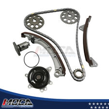 Timing Chain Kit+Water Pump for 1998 Chevrolet Prizm Toyota Corolla 1.8L 1ZZFE