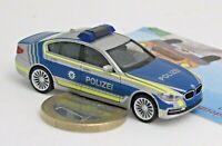 """Herpa 094566:  BMW 5er Limousine (G30) """"Lotsenfahrzeug Polizei München    (7015)"""