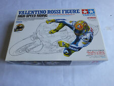 Tamiya 1/12th Valentino Rossi rider model kit complete and unstarted.