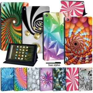 Tablet  Stand Cover Case For Amazon Fire7 (5/7/9th) HD8 (6/7/8th) HD10 (5/7/9th)
