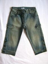 ARMANI Jeans Corto CAPRI bimba 7-8 ANNI STRETCH ELASTICIZZATO ORIGINALE