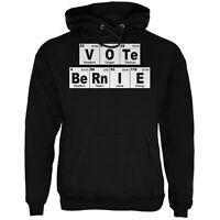 Election 2016 Vote Bernie Sanders Periodic Table Black Adult Hoodie