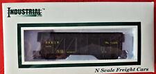 Industrial Rail N scale D&Rgw Rio Grande 3049 Wooden Box car Nib