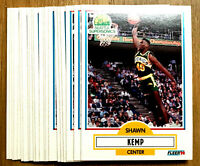 1990 Fleer ~ SHAWN KEMP ~ 20 CARDS LOT ~ ROOKIE CARDS SEATTLE SUPERSONlCS $TAR