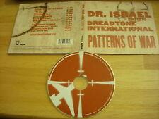 RARE OOP Dr. Israel Dreadtone International CD Patterns Of War BLOOD OF HEROES !