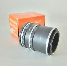 3-Piece Automatic Extension Tube Set 8mm + 16mm + 32mm (EACH with Pin) - M42 Fit