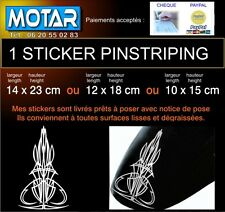 1 STICKER PINSTRIPING POUR HARLEY 3 dimensions 22 coul