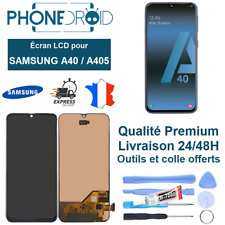 Écran complet LCD + Tactile Samsung A40 (A405) + Outils, stock FR