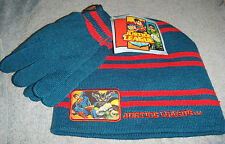 Justice League Hat and Gloves Set New Cold Weather Set Spider-man Batman