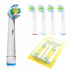 Tooth Brush Heads Electronic Replacement For Braun Oral B 3D White Action 4 Pcs