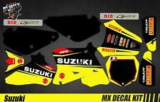 Kit Déco Moto / Mx Decal Kit Suzuki RM 65 / 85 - Yellow