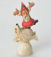David Frykman Oh The Joy Santa and Polar Bear Figurine 1994 DF1043