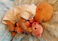 NEW Artist reborn baby girl preemie Kaitlin 3 lb 8 oz 16 inches GHSP