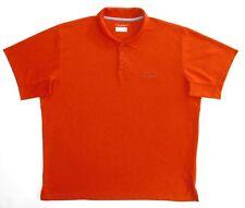 Columbia Sportswear Mens Orng Prem Athletic/Polo Shirt XXL New