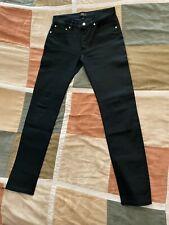 $235 A.P.C. petit new standard black japanese stretch denim jeans 29 men NEW apc