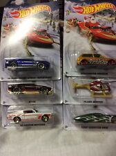 2015 Hot Wheels Christmas Holiday Hot Rods WalMart Set of 6 1:64 Diecast Set!
