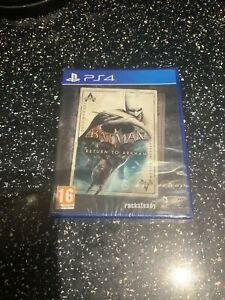 PLAYSTATION 4 PS4 GAME Batman Return To Arkham NEW & SEALED