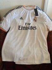 Adidas Climacool Real Madrid LFP soccer/fútbol jersey Fly Emirates size XL mens