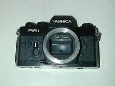 BOITIER épave YASHICA FR-1  noir pièces détachées DON'T WORK photo photographie