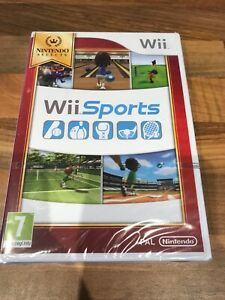 WII SPORTS NINTENDO WII GAME BRAND NEW FACTORY SEALED UK VERSION