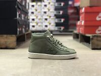 Converse Pro Leather 76 Mid Mens Skate Shoe Green/White 155649C NEW Size 8.5