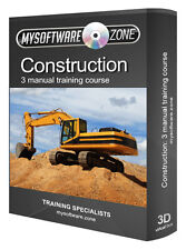 Construction Building DIY Training Manual Book Course on PC CD-ROM
