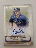 Austin Meadows 2021 Topps Tier One Talent Autograph 223/300 Tampa Bay Rays