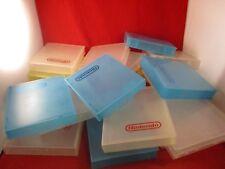 15 Official Original + 3 Generic Nintendo NES Dust Hard Plastic Game Protectors