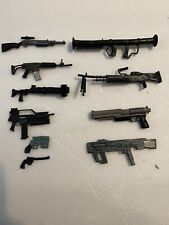 1:12 Weapon Lot Marvel Legends Military Rifle Pistol SMG Gun Rifle Canon More