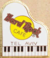 Hard Rock Cafe TEL AVIV 1997 White baby Grand PIANO PIN Mesh 3LC - HRC #9706
