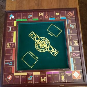 Franklin Mint Monopoly Board Game The Collector's Edition Complete