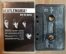 BEATLEMANIA --- With the BEATLES Canadian Cassette Tape