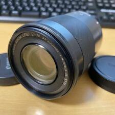 Canon Zoom Lens EF-M 55-200mm F4.5-6.3 IS STM Black EOS M M2 M3 M5 M6 M100
