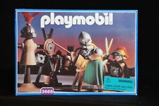 Playmobil 3668 Vintage 1993 Knights Training Jousting Toy Play Set NEW