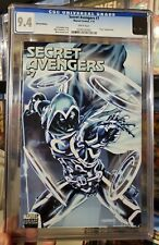 SECRET Avengers #7 CGC 9.4 2011 TRON VARIANT white pages Moon Knight
