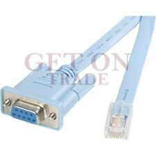 New/ Console Cable RJ45 to DB9, 6 Feet for Manageable Switches
