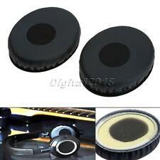 2X Replacement Ear Pads Earpad For Sennheiser HD218 HD228 HD238 Headphone Black
