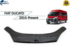 FIAT DUCATO HOOD BONNET DEFLECTOR ACRYLIC BUGS & DEBRIS GUARD 2014-2020 ON OFFER