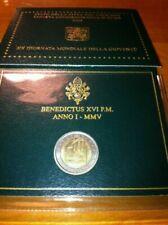 Pièces euro du Vatican pour 2 Euro année 2005