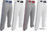 Easton Rival 2, Youth Boys Piped Open Bottom Baseball Pants A167125