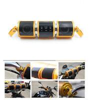 Bluetooth Motorcycle Scooter Waterproof Bike ATV Jet Ski Stereo FM Radio Alarm
