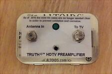 T The TRUTH AMP ©™ - UHF VHF HDTV Digital TV Antenna Signal Booster Amplifier