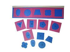 Montessori,  Metallene Einsatzfiguren, 22-teiliges Set, MS46