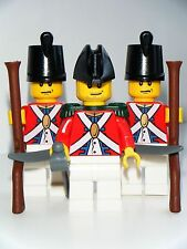 New Lego Parts Pirate Imperial Red Coat Army Soldiers Custom Minifigures Weapons