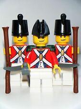 Nuevo LEGO Piezas soldados del Ejército Imperial Rojo Abrigo Pirata Personalizado Minifiguras ARMAS