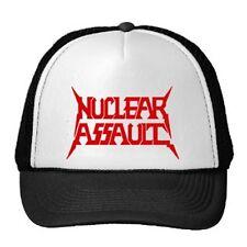 NUCLEAR ASSAULT TRUCKER CAP / SPEED-THRASH-BLACK-DEATH METAL