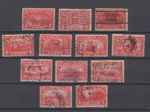 US 1912-13 Parcel post set used